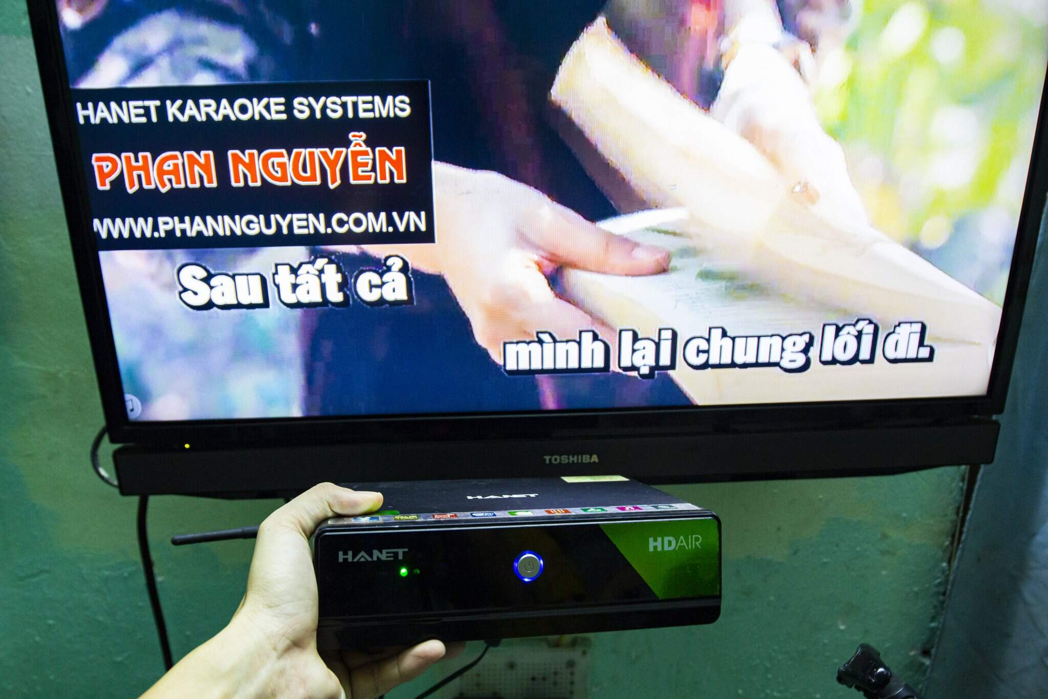 Đầu Karaoke Hanet HD Air 4TB